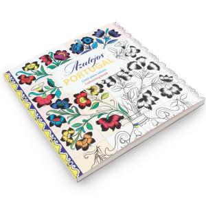 Livro de colorir azulejos