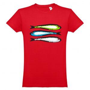 T-shirt 3 sardinhas